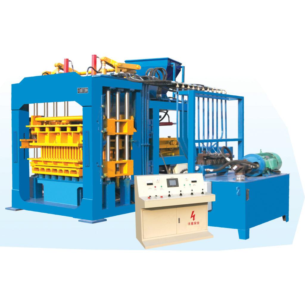 8-15C fully automatic hydraulic hollow block making machine