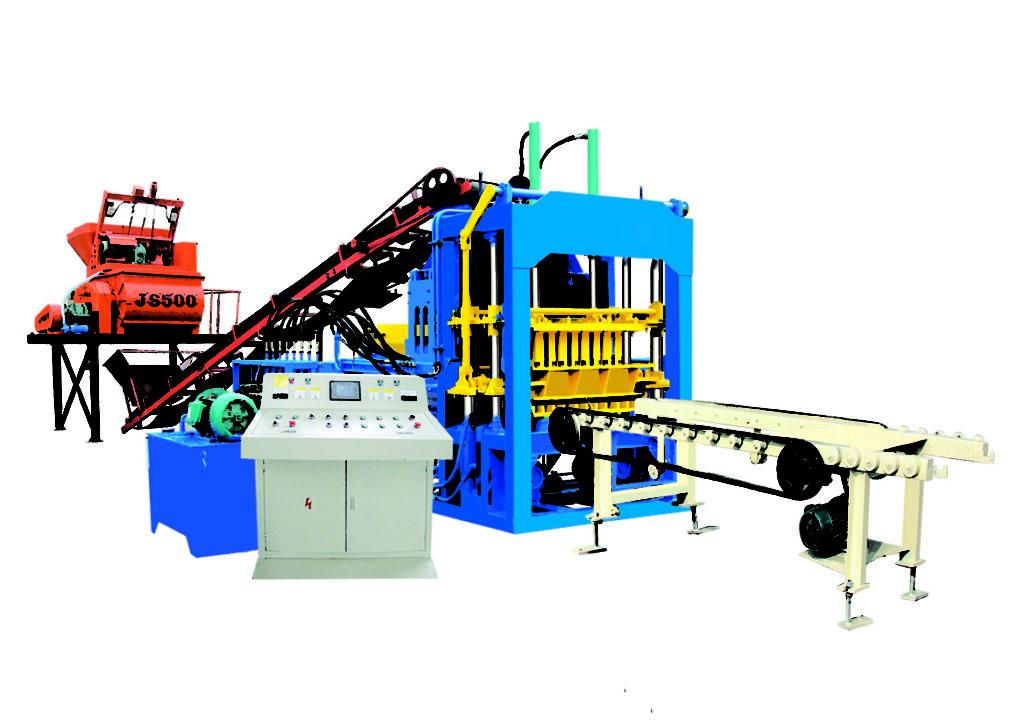 QT4-15D automatic hydraulic hollow block making machine