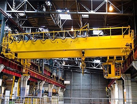 double girde indoor overhead crane