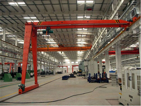 common semi gantry crane 2 ton sale
