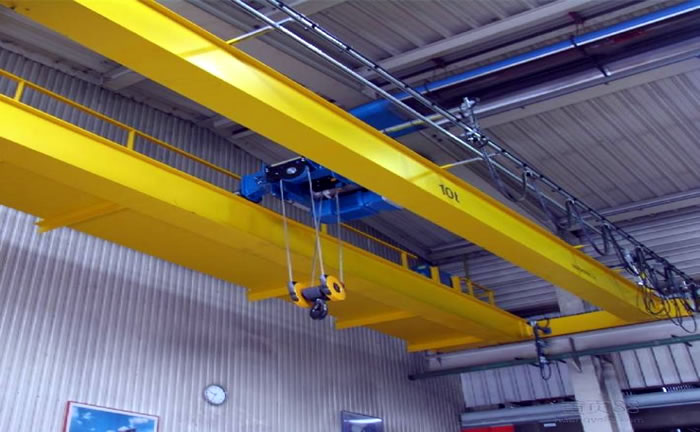 double girder electric hoist bridge crane sale