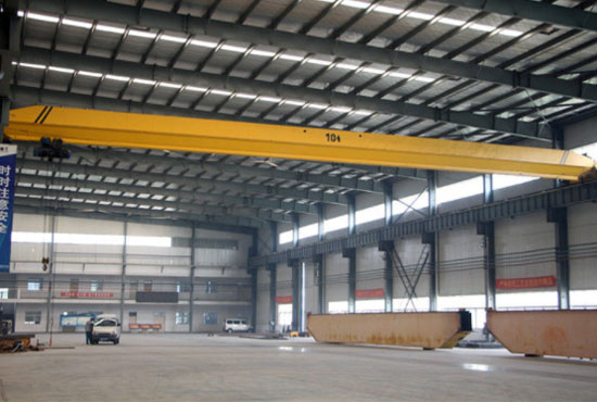Single Girder Overhead Crane 10 Ton
